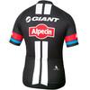 Etxeondo Authentic Team Giant-Alpecin Koszulka kolarska, krótki rękaw Mężczyźni czarny